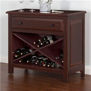 Accent Chest w/ Wine Storage