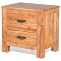 Sunny Designs Reno Nightstand - Item Number: 2315CC-N
