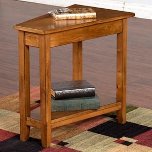 Sunny Designs Rustic Birch Sedona Chair Side Table