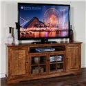 """Sunny Designs Rustic Birch 78"""" TV Console - Item Number: 3474RB-78"""