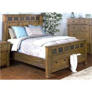 Morris Home Furnishings Sadler Sadler Queen Storage Bed
