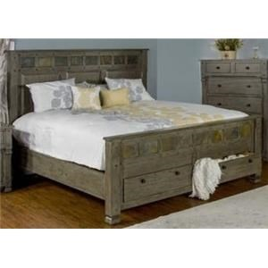Morris Home Furnishings Sadler Sadler King Storage Bed
