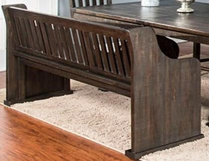 Saletta Bench with Back