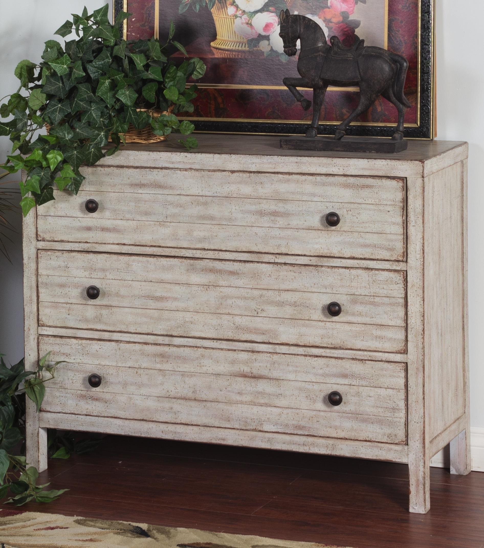 Morris Home Furnishings Santa Rosa Santa Rosa 3 Drawer Chest - Item Number: 288844602
