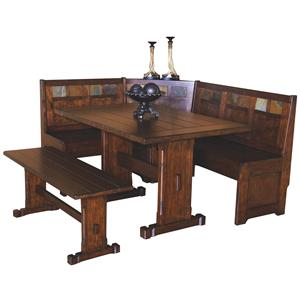 4 Piece Breakfast Nook Set
