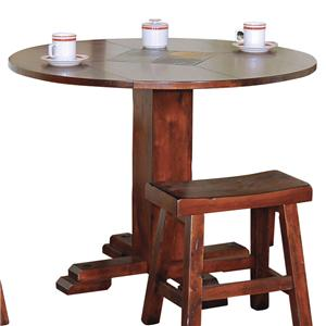 Sunny Designs Santa Fe Round Casual Dining Table