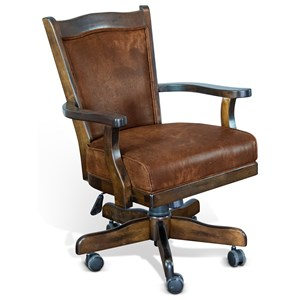 Sunny Designs Santa Fe Game Chair w/ Casters
