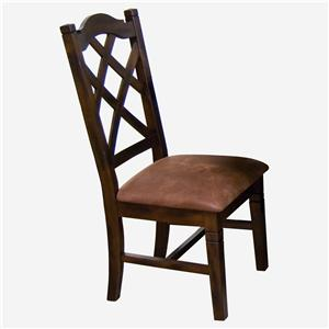 Sunny Designs Santa Fe Double Crossback Dining Side Chair