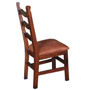 Sunny Designs Santa Fe Curved Ladderback Dining Side Chair