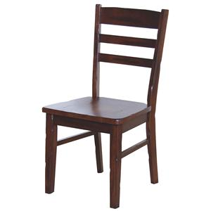 Sunny Designs Santa Fe Ladderback Side Chair