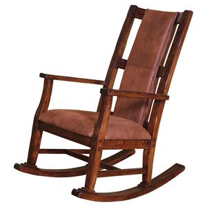 Sunny Designs Santa Fe Wood Rocker