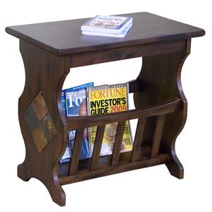 Market Square Morris Home Furnishings Gable Place End Table