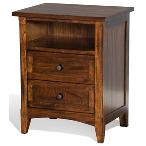 Sunny Designs Santa Fe Night Stand