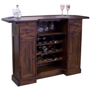 Sunny Designs Santa Fe 2 Drawer 2 Door Bar