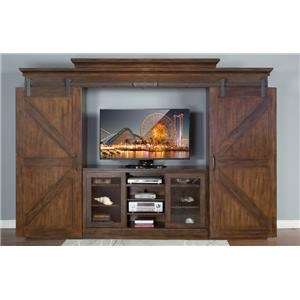 Morris Home Furnishings Eldridge Eldridge 5-Piece Wall Unit