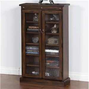 Sunny Designs Santa Fe 2 Door Media Cabinet