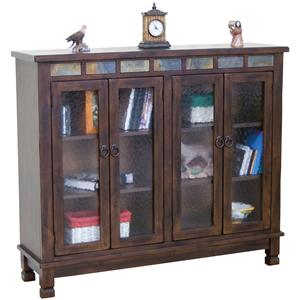 4 Door Closed Bookcase