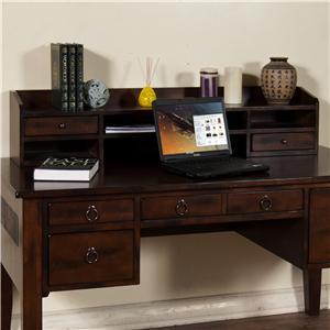 Sunny Designs Santa Fe Desk Hutch