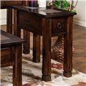 Sunny Designs Santa Fe Chair Side Table - Item Number: 3143DC-CS