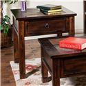 Sunny Designs Santa Fe End Table w/ Slate Top - Item Number: 3144DC-2