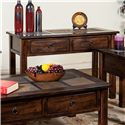Sunny Designs Santa Fe Sofa/Console Table w/ Slate Top - Item Number: 3145DC