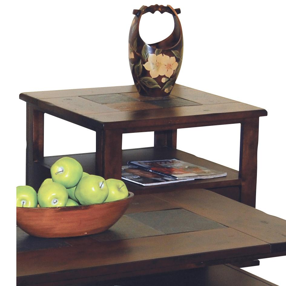 Morris Home Furnishings Morris Home Furnishings Duck Lake End Table - Item Number: 3164DC-E