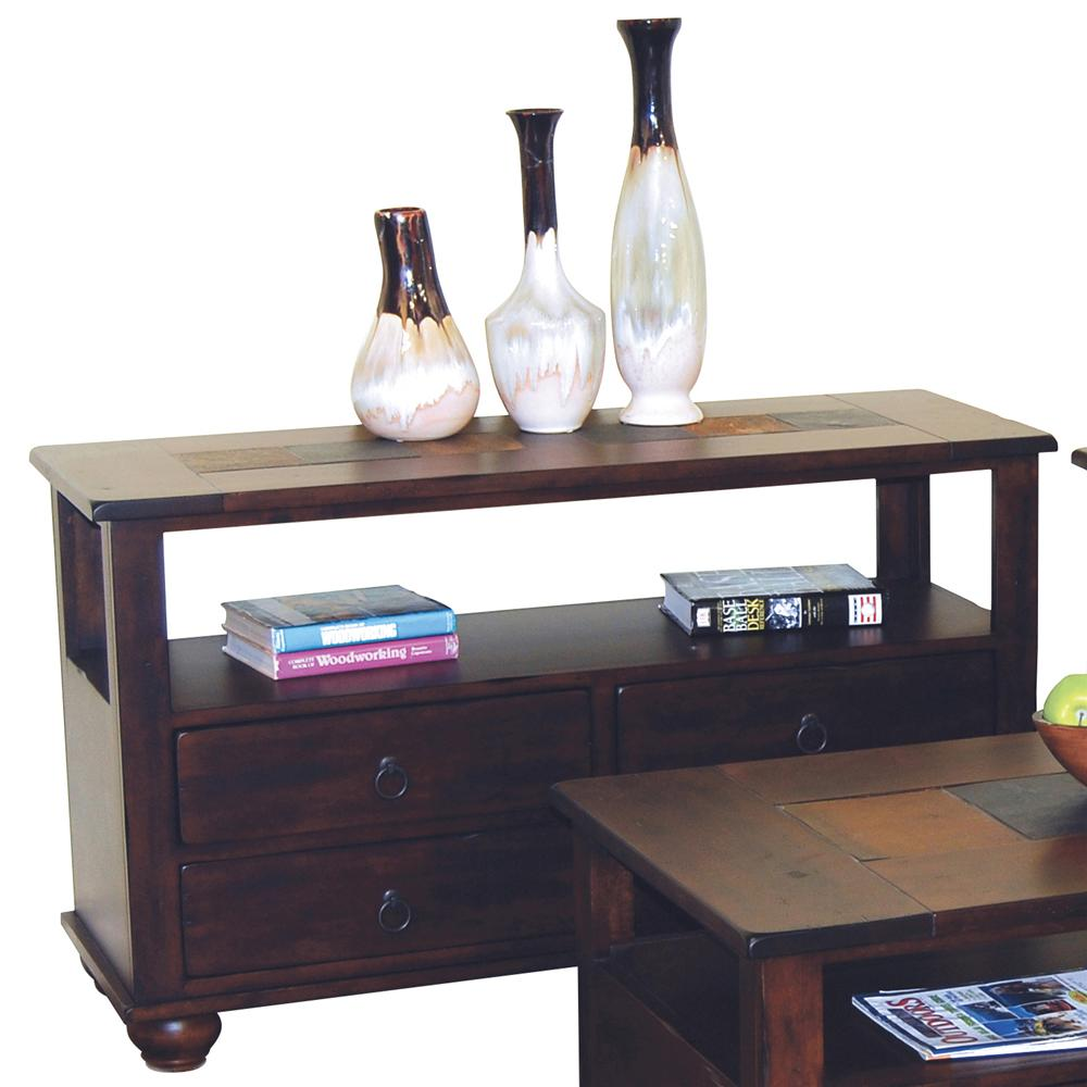 Morris Home Furnishings Morris Home Furnishings Duck Lake 4 Drawer Sofa Table - Item Number: 3164DC-S