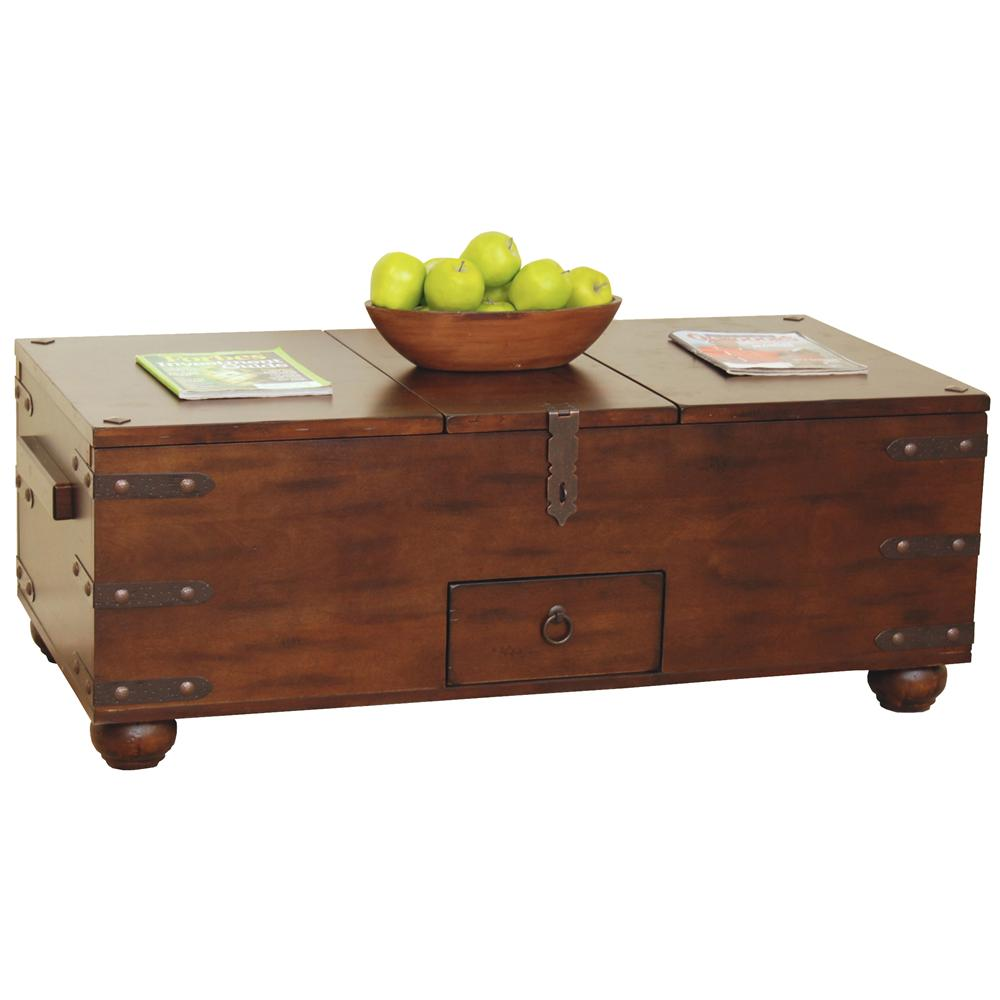 Sunny Designs Santa Fe Storage Coffee Table - Item Number: 3166DC-C