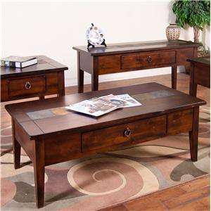 Sunny Designs Santa Fe Santa Fe Coffee Table