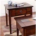 Sunny Designs Santa Fe End Table - Item Number: 3176DC-E