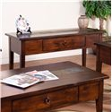 Sunny Designs Santa Fe Santa Fe Sofa/Console Table - Item Number: 3176DC-S