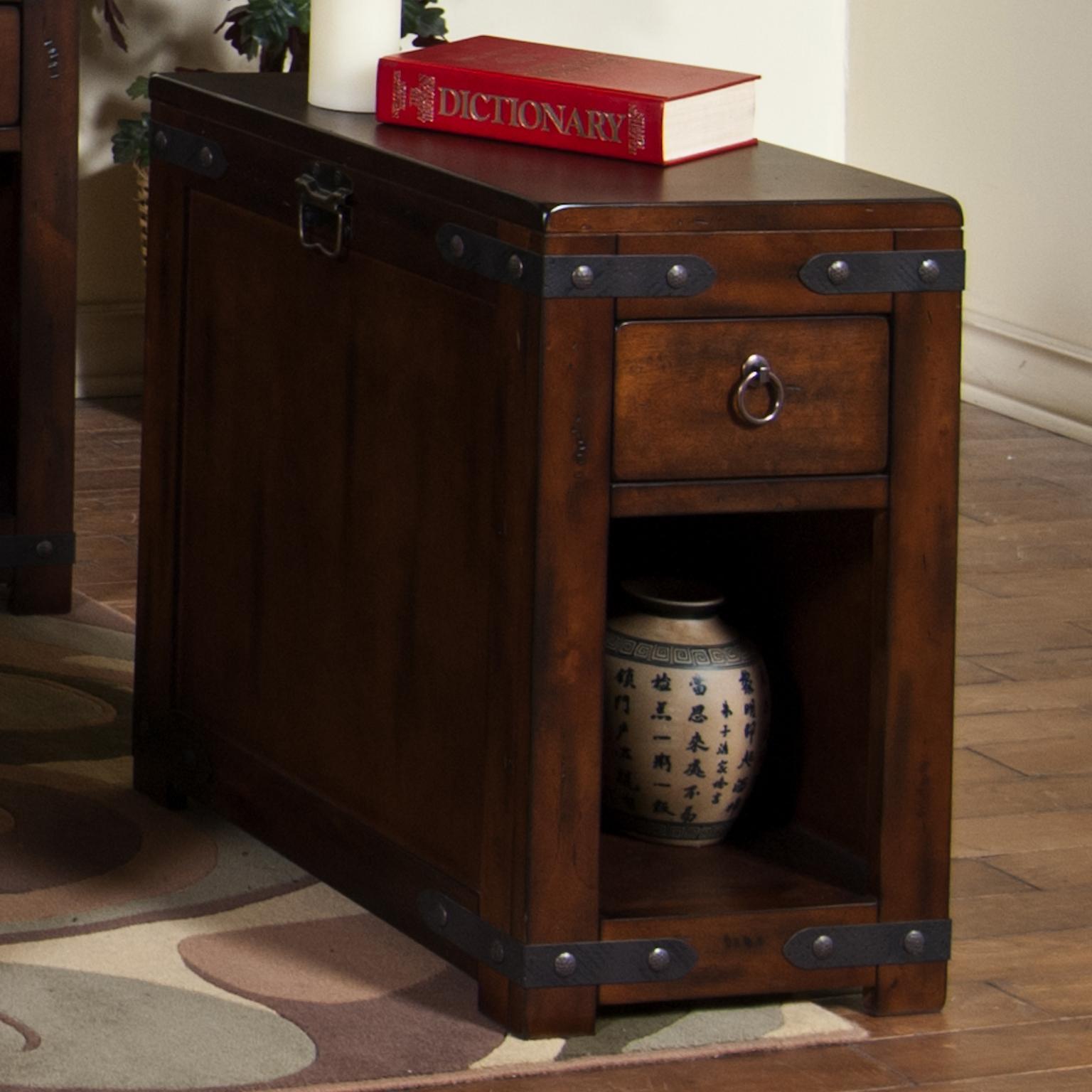 Sunny Designs Santa Fe Chair Side Table - Item Number: 3211DC-CS