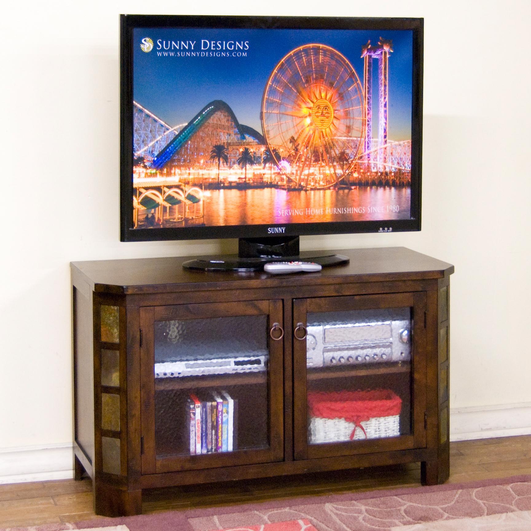 "Sunny Designs Santa Fe 45"" TV Console - Item Number: 3416DC-45"