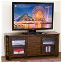 "Sunny Designs Santa Fe 60"" TV Console w/ Combo Drawer - Item Number: 3416DC-60"