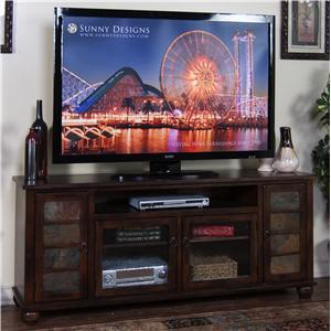 """Sunny Designs Santa Fe 72"""" TV Console"""
