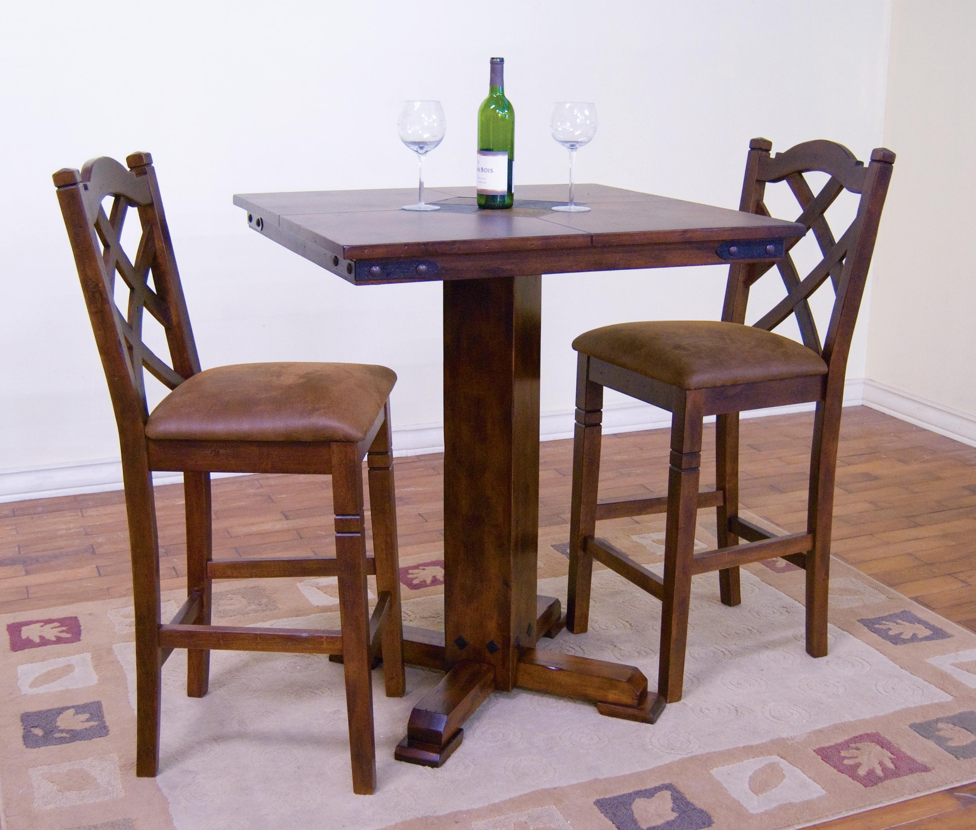 Morris Home Furnishings Morris Home Furnishings Salford 5-Piece Pub Table Set - Item Number: 358892252
