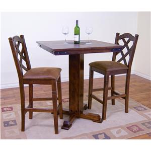 Morris Home Furnishings Morris Home Furnishings Salford 5-Piece Pub Table Set