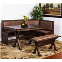 Sunny Designs Savannah Breakfast Nook Set - Item Number: 0222AC