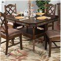Sunny Designs Savannah Adj. Height Dining Table w/ 2 Leaves - Item Number: 1151AC