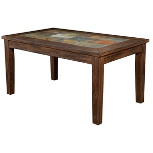 Sunny Designs Savannah Dining Table w/ Slate Top