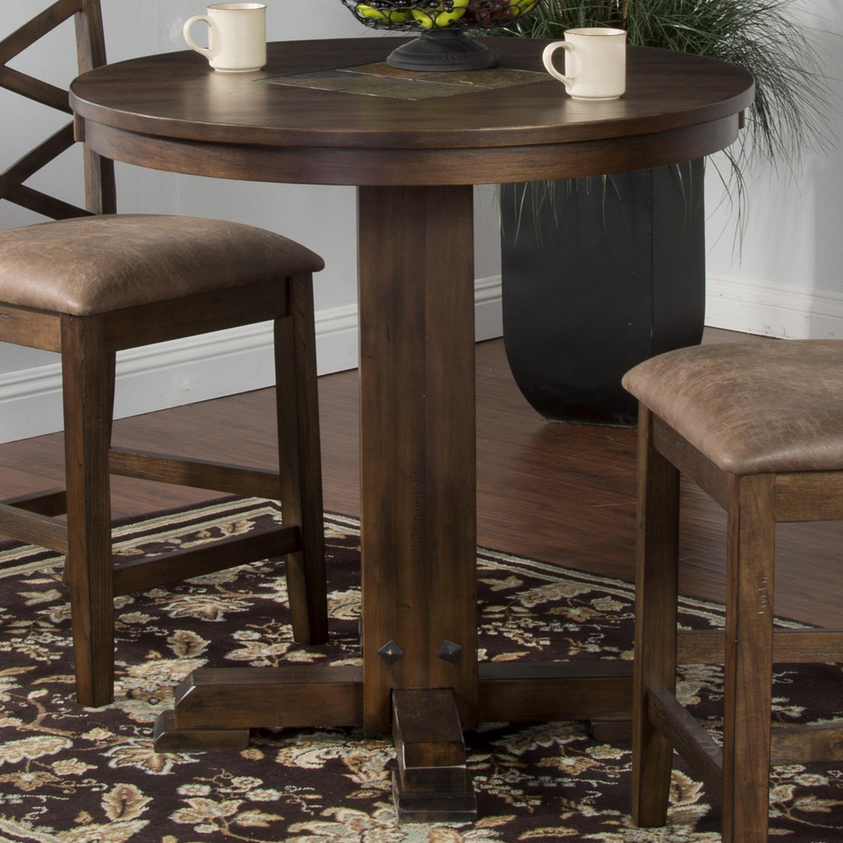 Sunny Designs Savannah Counter Bar Height Pub Table With