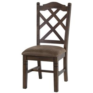 Sunny Designs Savannah Dbl Crossback Chair