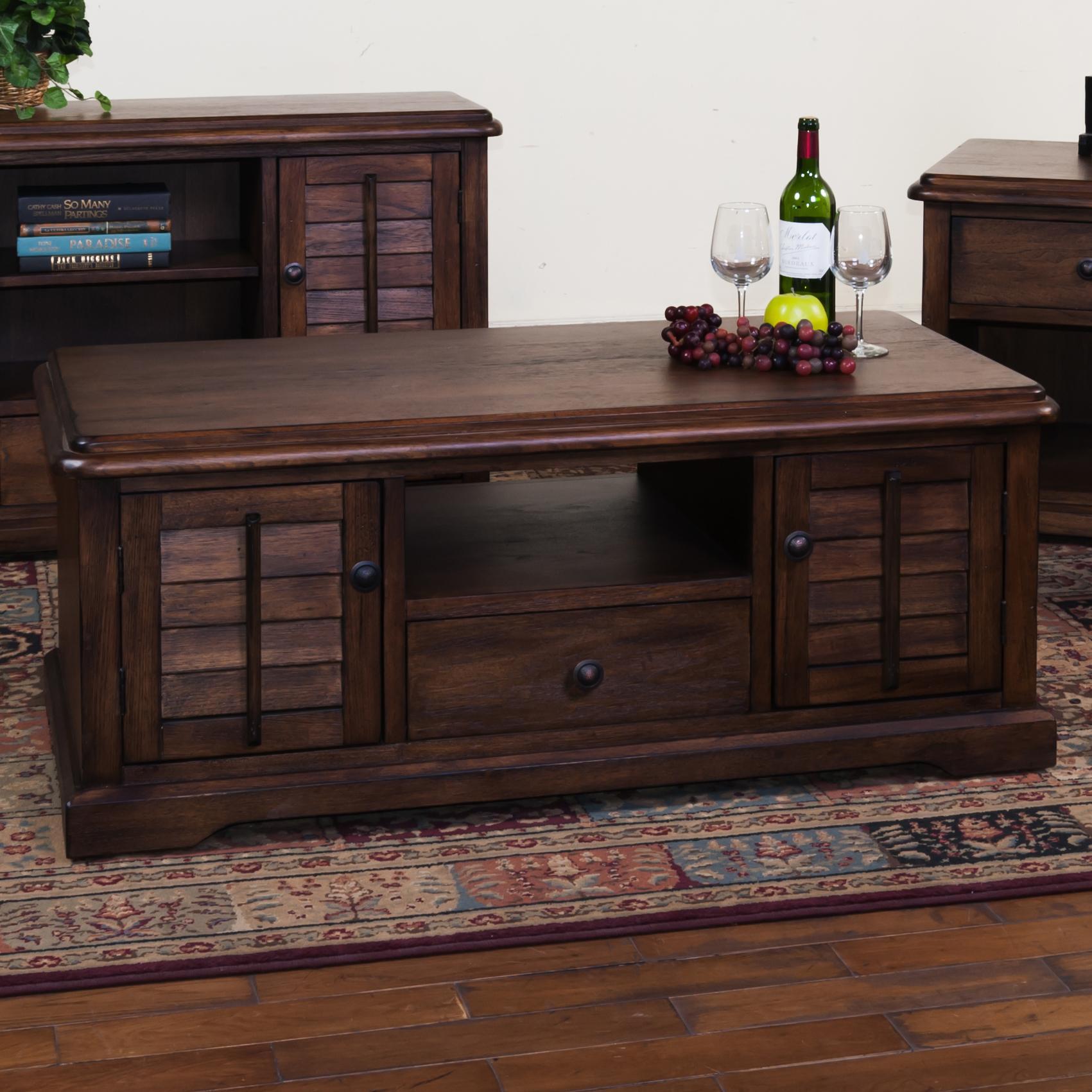 Sunny Designs Savannah Coffee Table - Item Number: 3231AC-C