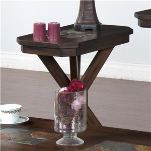 Sunny Designs Savannah Chair Side Table