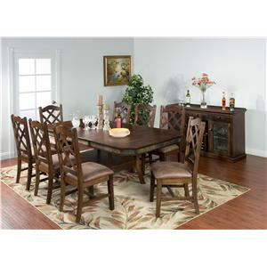 Sunny Designs Savannah Formal Dining Room Group