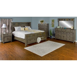 Sunny Designs Scottsdale King Bedroom Group
