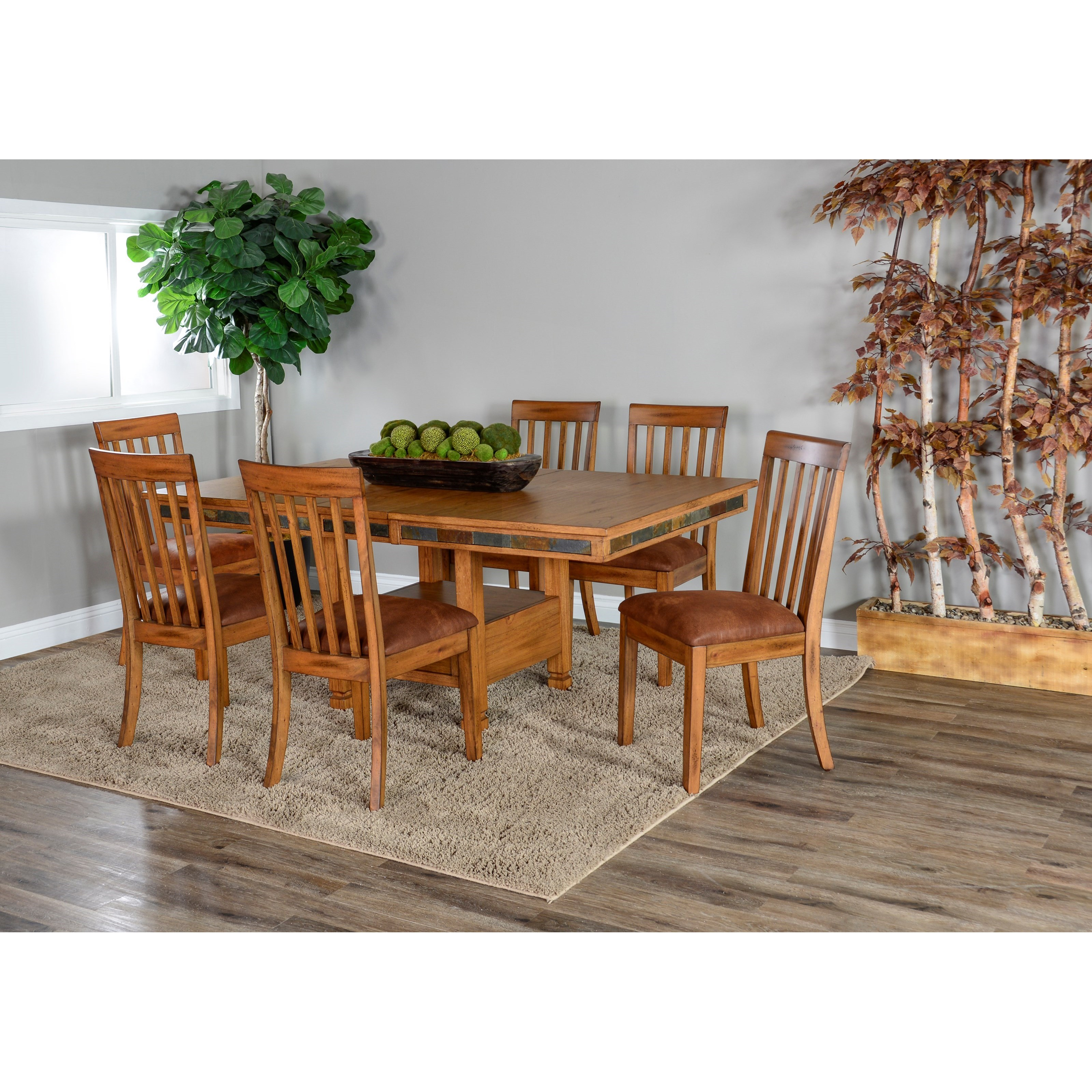 Sunny Designs Sedona 2 Adjustable Butterfly Dining Table ...