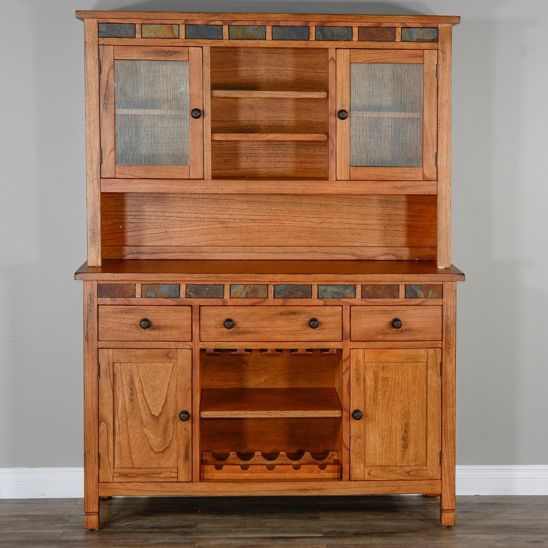 Sedona 2 Buffet & Hutch by Sunny Designs at Sparks HomeStore