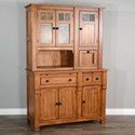 Sunny Designs Sedona 2 Buffet and Hutch - Item Number: 2416RO2