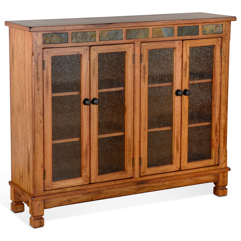Sedona 2 Bookcase W 4 Doors